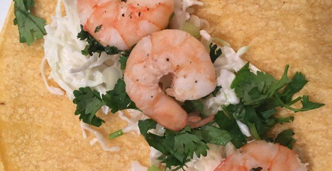 MyHealthyVegas Shrimp Tacos